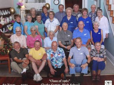 Clarke High School Class of 1961